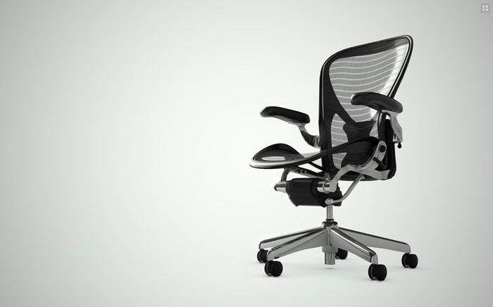 Herman Miller Chrome Aeron