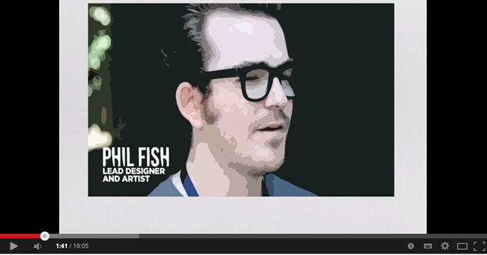 Video games designer Phil Fish  - Inspirational link