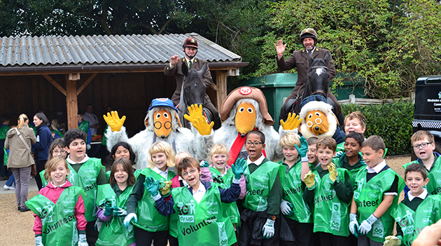 Children and wombles