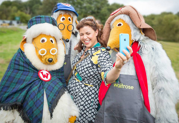 Kirstie and wombles