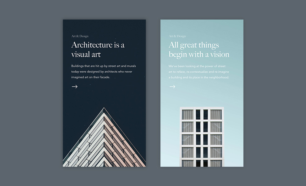 Article Card Components - Web Design Inspiration