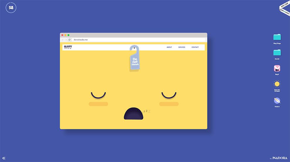Wake it up - Web Design Inspiration