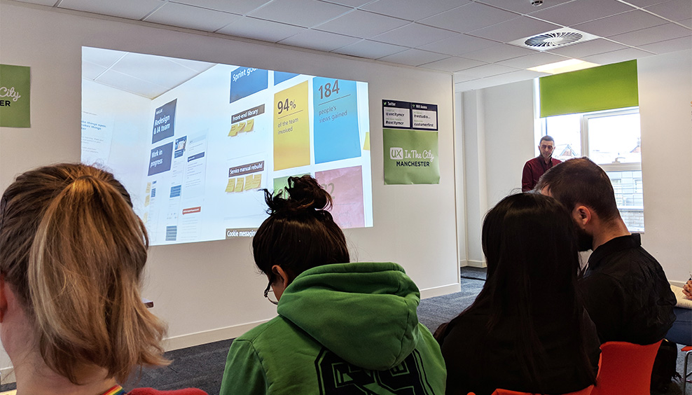 Dean Vipond - Redesigning the NHS UK website - UX in The City Manchester 2019