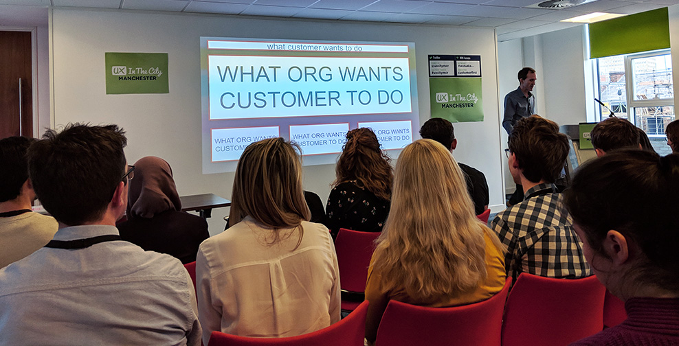 Gerry McGovern - Improving the Customer Experience with Top Tasks - UX in The City Manchester 2019