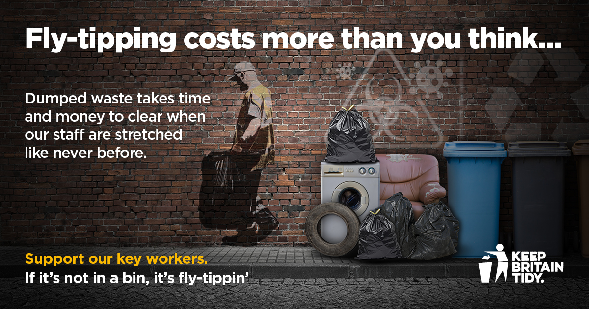 Fly tipping cost more than you think - campaign