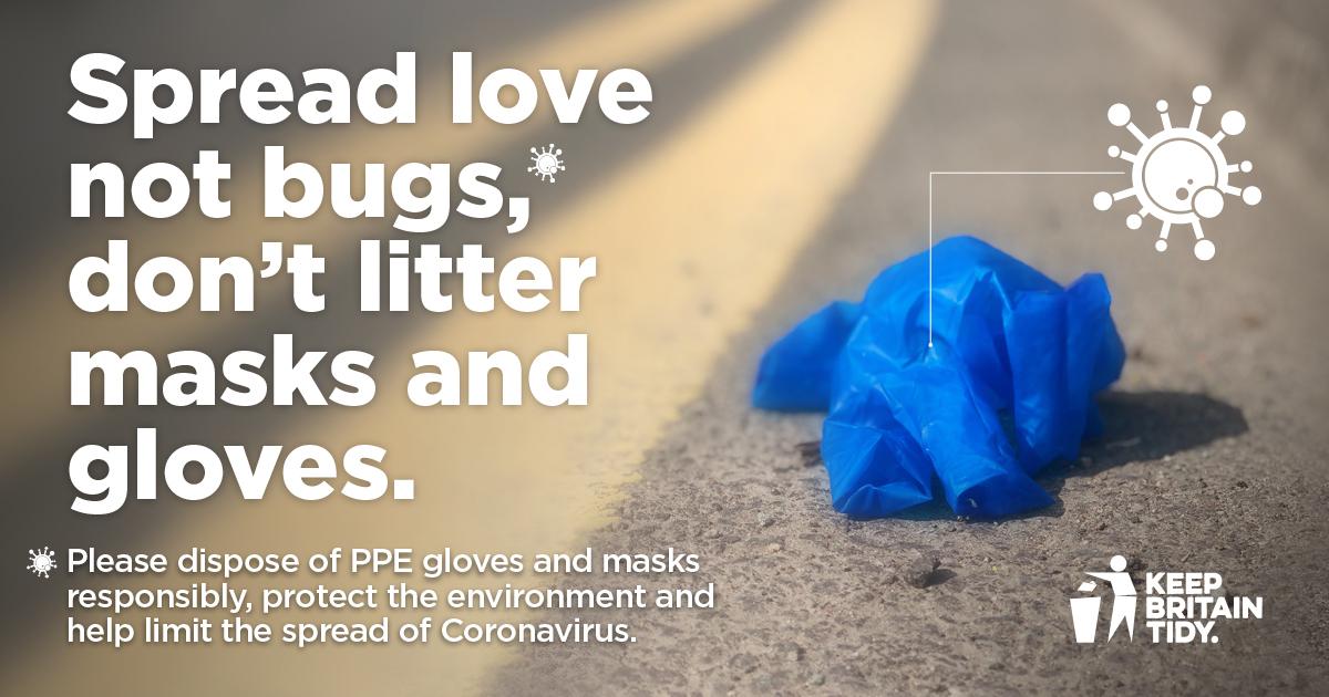 Spread Love not Bugs - Covid19 Campaign